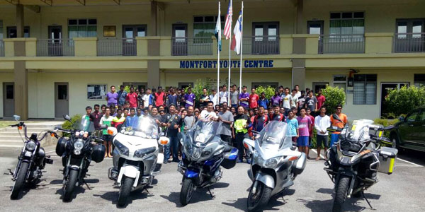 MYC-aboutus_uther news_A Visit by Bikers